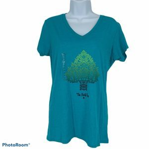 The North Face Scroll Tree Short Sleeve T Shirt